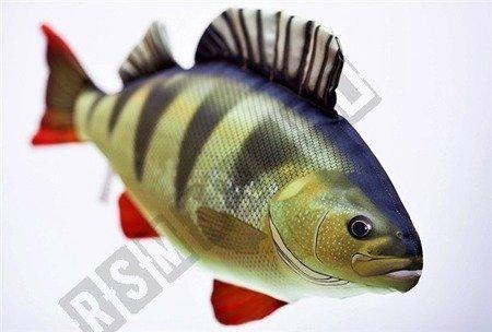Gaby kissen kuscheltier fisch barsch pl schtier for Fisch barsch