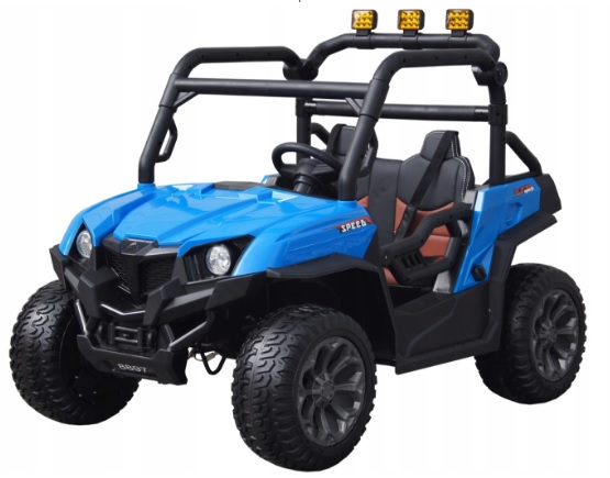 doppelauto f r eine blau 4x45w buggy batterie. Black Bedroom Furniture Sets. Home Design Ideas